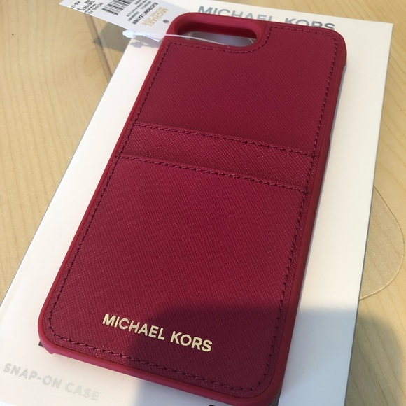 timeless design c8305 29dd5 Michael Kors Phone Wallet Case iPhone 7 Plus NWT